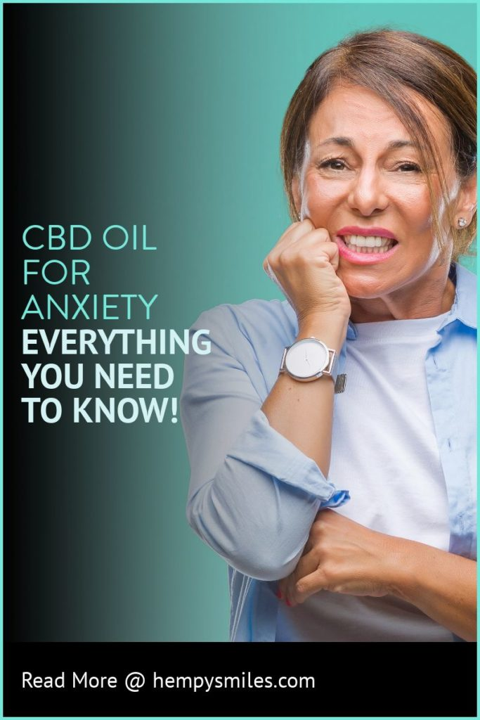 CBD Oil For Anxiety - Pinerest